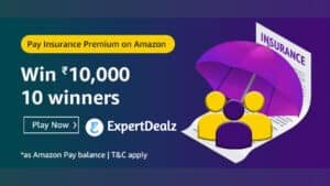 Amazon Pay Insurance Quiz Answers