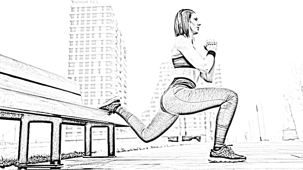 For which of these exercises, can stairs be used very efficiently? - Split Squats