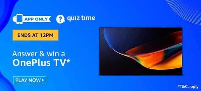 OnePlus TV Amazon Quiz