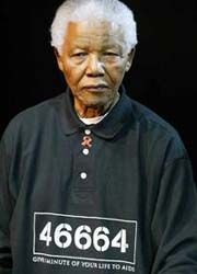 Nelson Mandela as a Prisoner at Robben Island.