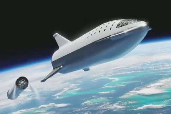 Hawkthorne headquartered company successfully flight-tested a prototype of its Mars rocket ship that can land upright